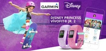 VIDEO: Garmin and Disney launch 'vívofit jr. 2' fitness tracker