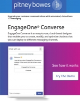 Pitney Bowes' chatbot platform engages you through messaging apps