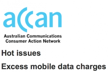 ACCAN examines soaring complaints about telco excess data charges