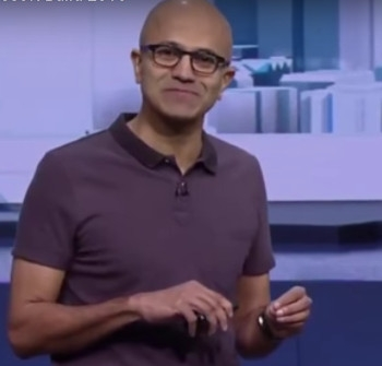 Nadella's trust talk is just so much hot air