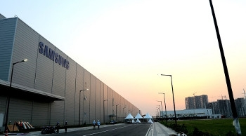 The Samsung factory in Noida, India.