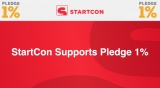 StartCon supports the Pledge 1% movement