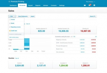 Xero plugs quote gap