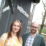 Waterstons managing director Charlie Hales and head of managed services Alex Bookless