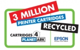 Epson recycles 3 million ink cartridges
