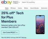 Price Wars: eBay Plus strikes back against Amazon with 25% top tech deals until 18 July