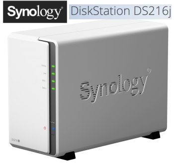 Synners rejoice: Synology's DiskStation DS216j has arrived