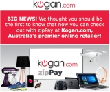 Kogan joins the Zip platform: Zip zip hooray