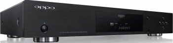 OPPO 4K Blu-ray disc player – top draw
