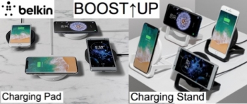 Belkin launches 10W BOOST↑UP Wireless Charging Stand and Pad in Australia