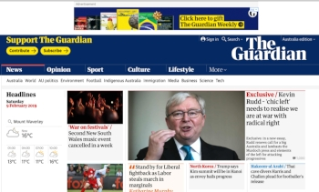 Guardian Australia redirects Mac user to phishing site
