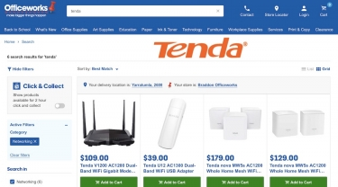Tenda launches one of Australia's most affordable whole home mesh Wi-Fi systems at Officeworks