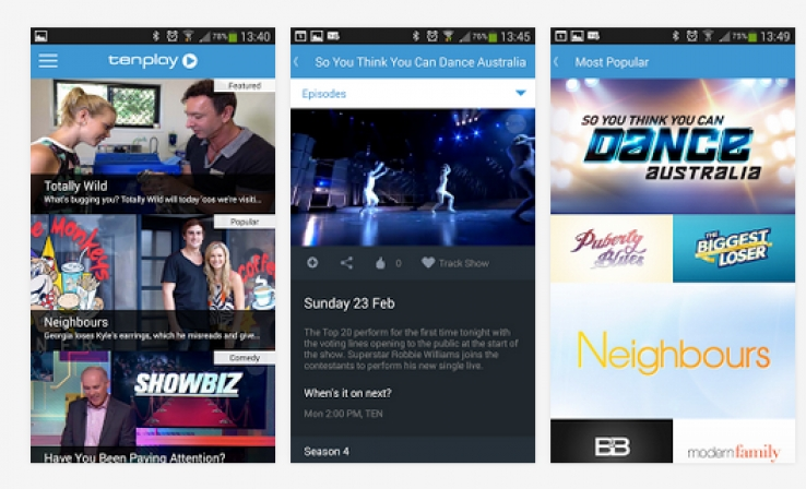 iTWire - Tenplay comes to Android