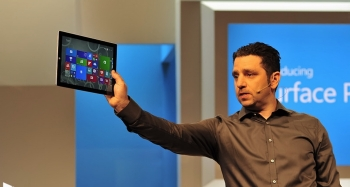 Panos Panay, Microsoft's Corporate Vice President for Surface Computing