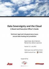 UNSW produces executive guide to data sovereignty and the cloud