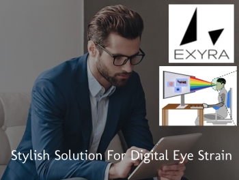 VIDEOS: EXYRA anti-blue light eyewear protects eyesight so you won't feel blue
