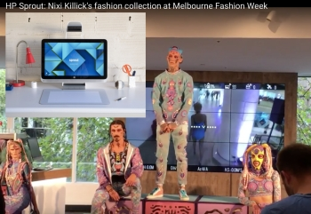 EXCLUSIVE VIDEOS: HP Sprout helped sprout Nixi Killick's fashion collection
