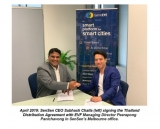 Australia's SenSen launches Gemineye solution, inks distribution agreement with Thailand's EVF