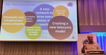 VIDEO: Global Broadband Futures keynote presented by NBN Co CEO Bill Morrow