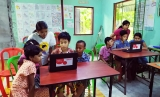 Myanmar children benefit from Ooredoo digital library project