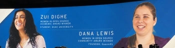 Healthcare contributions see two winners in Women in Open Source award