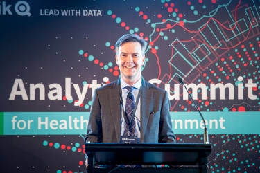 Paul Leahy, Country Manager, ANZ Qlik