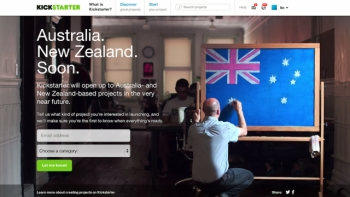 Kickstarter kicking off in Australia