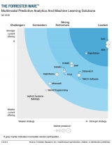 Forrester claims SAS first truly multimodal predictive analytics and machine-learning platform