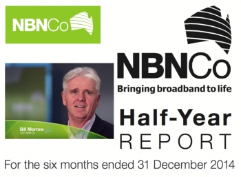 VIDEO: NBN Co results to December 2014 - all numbers up including revenue and losses